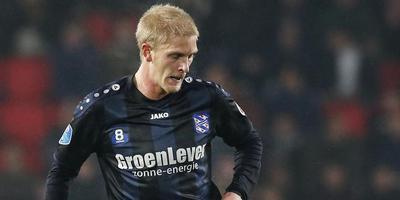 Hoe lang staat Groenleven nog op de borst van de SC Heerenveen-spelers? FOTO ANP PRO SHOTS