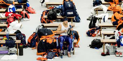 Sven Kramer won alles in zijn rijke loopbaan, slechts het goud op de olympische tien kilometer ontbreekt. FOTO ANP/JERRY LAMPEN