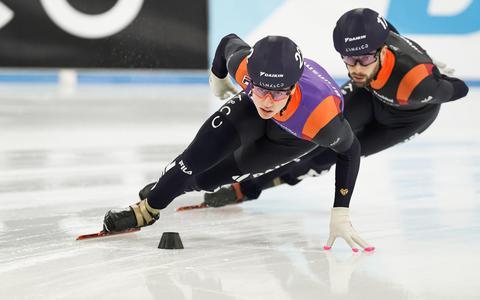 Olympische droom houdt Jasper Brunsmann op de been: 'Mijn doel nu is eerst een goed rondje schaatsen'