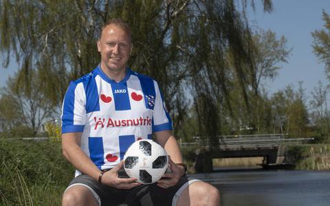 Trotse eendagsvliegen in het shirt van SC Heerenveen: 'Ik heb het in een roes beleefd'