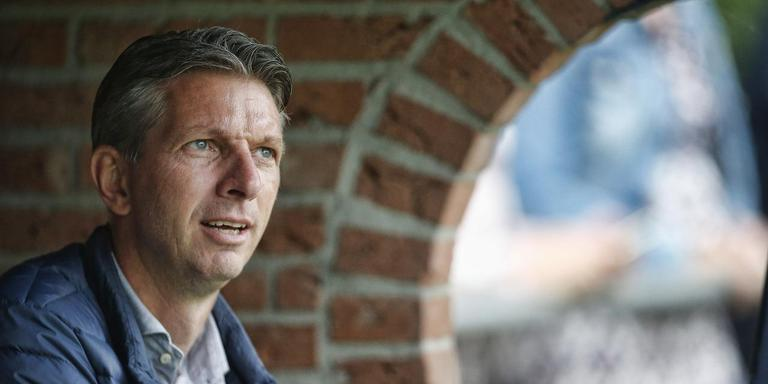 Gerry Hamstra, technisch manager van SC Heerenveen. FOTO HENK JAN DIJKS