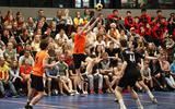 De korfballers van België mogen weer hopen