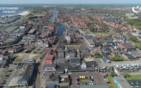 Bekijk hier de derde dronevlucht van Fryslân fan Boppen: Van de Alde Feanen naar Lemmer