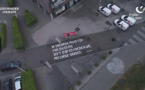 Bekijk hier de tiende dronevlucht van Fryslân fan Boppen: de merenroute