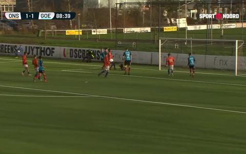 ONS Sneek pakt punt tegen VV Goes (met samenvatting en interviews)