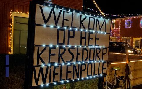 Kerstdorp Wielenpôlle is mooiste van Nederland: 'Het was ons doel saamhorigheid en liefde te geven'