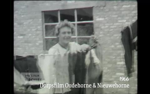 Ga terug in de tijd met 'Films van Toen': Dorpsfilm Oudehorne & Nieuwehorne uit 1966
