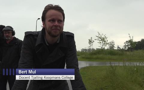 Docent Bert Mul terug op het Tjalling Koopmans College: 'Zonder gedoe, hoop ik'