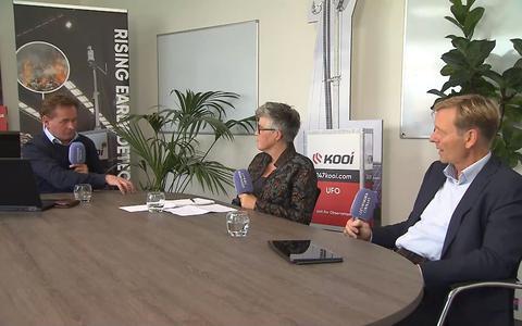 LC Live met een blik op de Miljoenennota. Sieger Dijkstra (rechts) en Irene Overduin (midden). Ook te gast: Pieter Kooi.