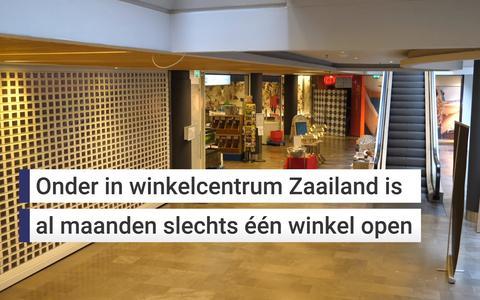 Onderin winkelcentrum Zaailand is dierenwinkelier Theo van Dijk als enige open, zeven dagen per week