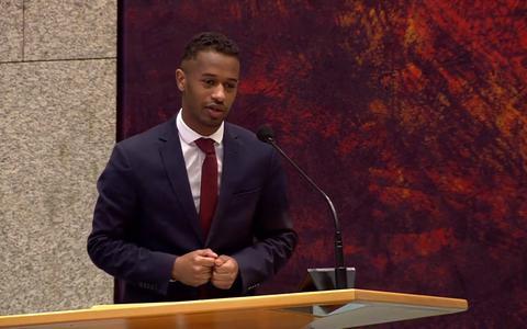 Kersvers PvdA-Kamerlid Habtamu de Hoop oogst lof met hoopvolle maidenspeech in Tweede Kamer
