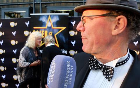 Bij de première van de Friese film Stjer in Leeuwarden: Rode loper en beugels bier